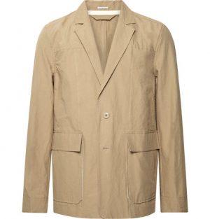 Acne Studios - Sand Jarel Unstructured Cotton-Poplin Suit Jacket - Men - Sand
