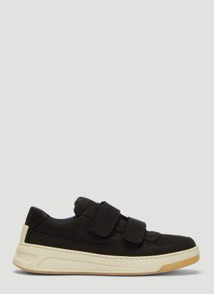 Acne Studios Velcro Nubuk Sneakers In Black size EU - 42