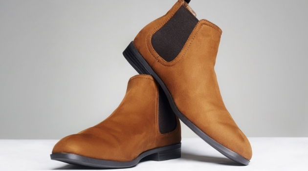 Brown Chelsea Mens Boots