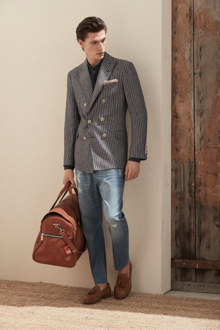 Brunello Cucinelli Delivers Modern Standards for Spring '20 Collection