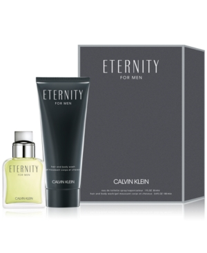 Calvin Klein Men's 2-Pc. Eternity For Men Eau de Toilette Gift Set