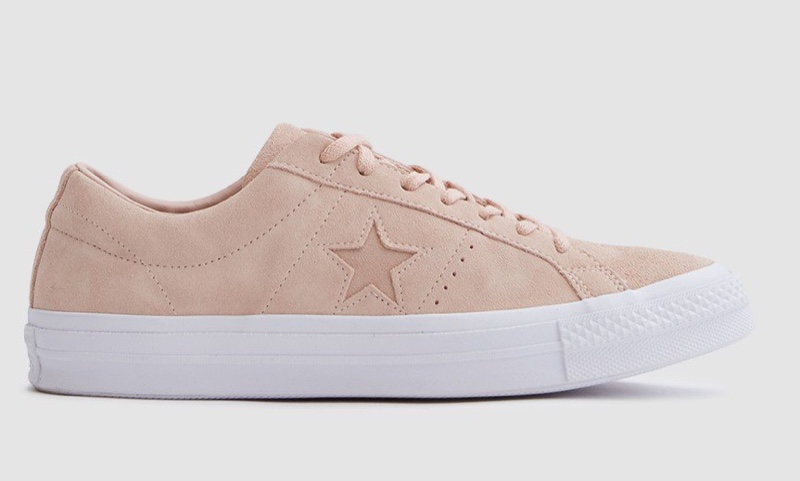 Converse Pink White Sneakers Men
