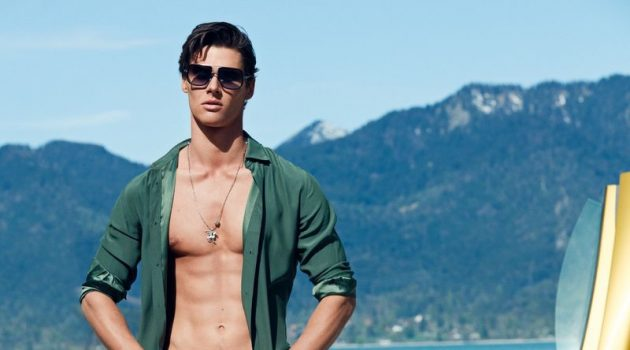 Eric Bergmann Dons Luxe Accessories for GQ Germany