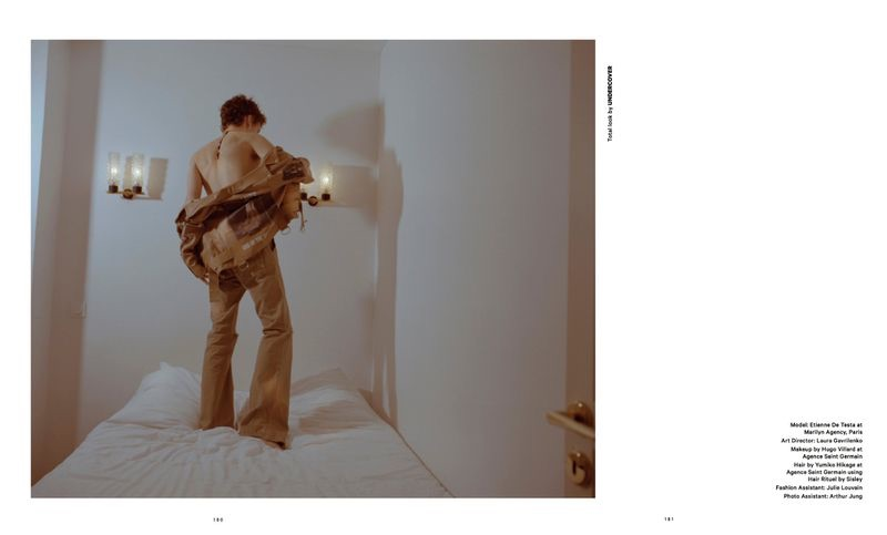 Rebolt: Etienne de Testa for Essential Homme