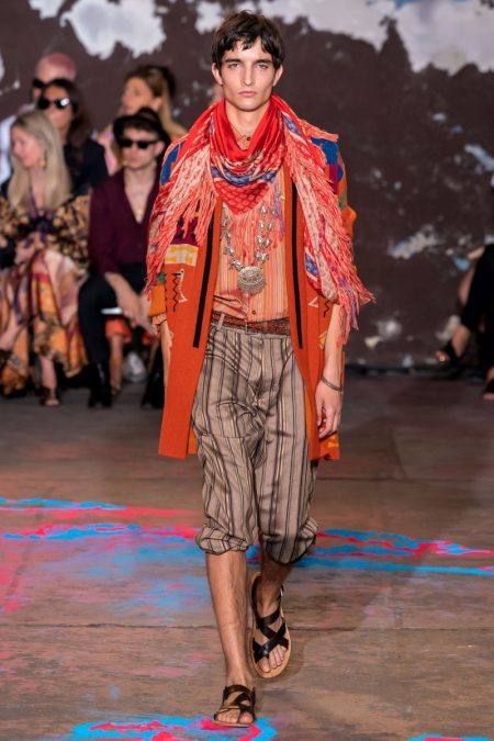 Etro Delivers a 'Desert Saga' with Spring '20 Collection