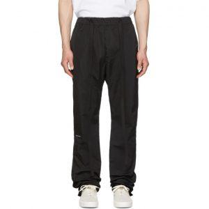 Fear of God Black Nylon Baggy Lounge Pants