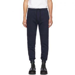 Fendi Navy Cotton Lounge Pants