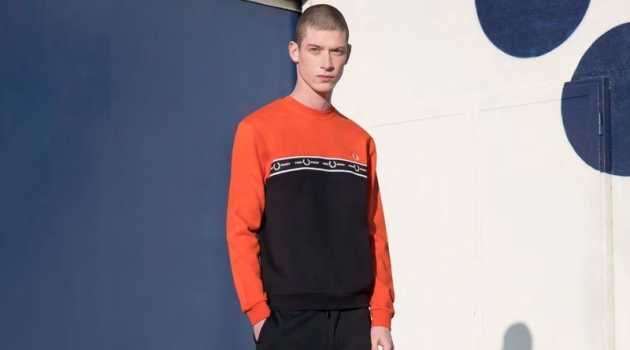 Gleb Gorodkov Rocks Fred Perry for Sport & Street