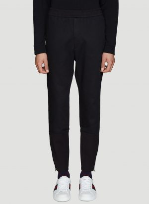 Gucci Zipped Military Pants in Black size IT - 50