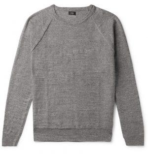J.Crew - Mélange Cotton Sweater - Men - Gray