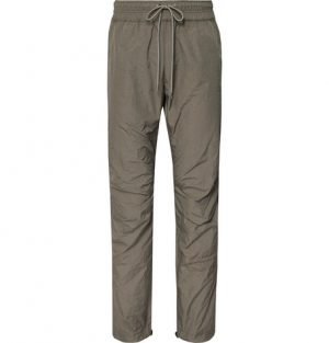 John Elliott - Himalayan CORDURA Drawstring Trousers - Men - Gray green