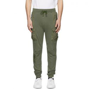 John Elliott Khaki Lounge Cargo Pants