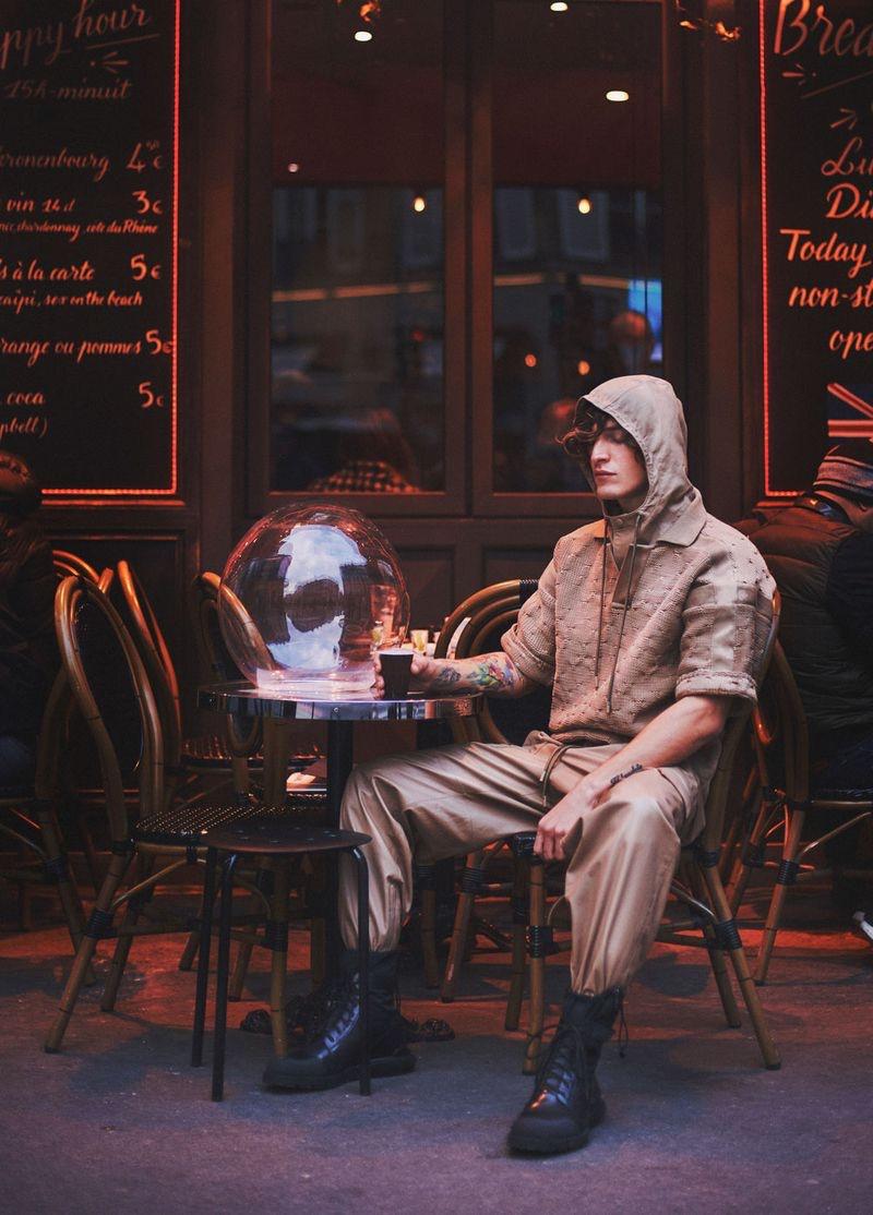 Jonathan Bellini Dons Modern Style for L'Officiel Hommes Thailand