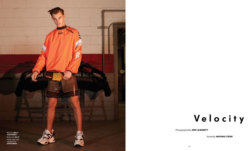 Velocity: Kit Butler Goes Sporty for Essential Homme
