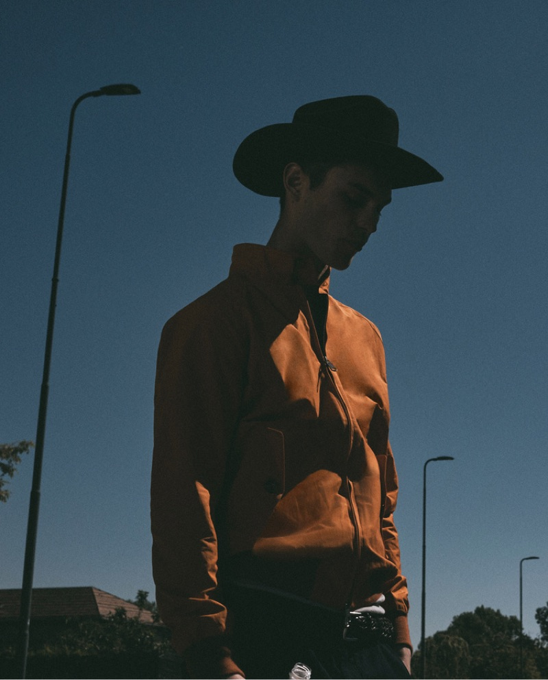 Kit Butler Goes Western for Icon Cover Shoot