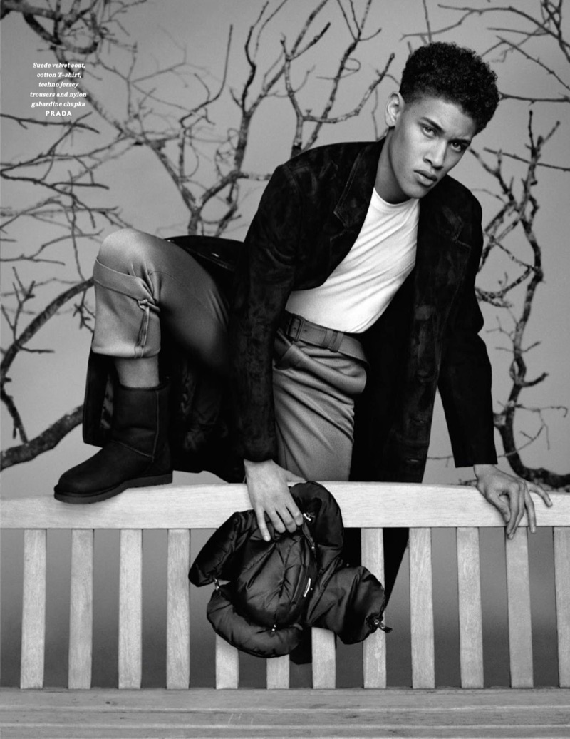 Parker van Noord, Harvey James, Tom Webb + More for Vogue Hommes Paris
