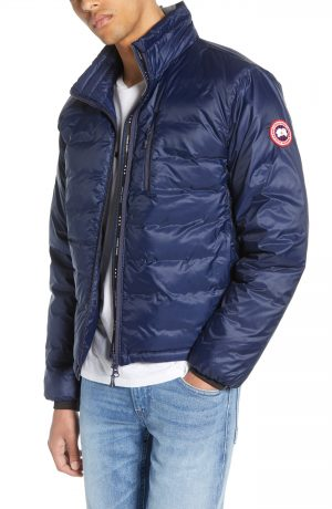 Men's Canada Goose Lodge Fusion Fit Packable Windproof 750 Down Fill Jacket, Size X-Small - Blue