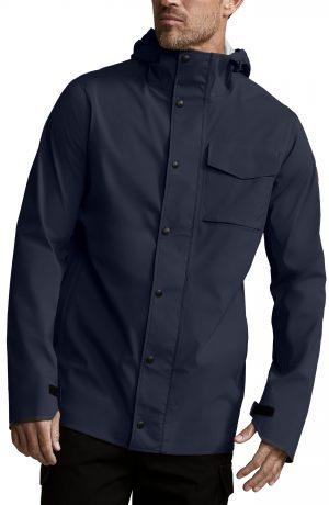 Men's Canada Goose Nanaimo Windproof/waterproof Jacket, Size Medium - Blue