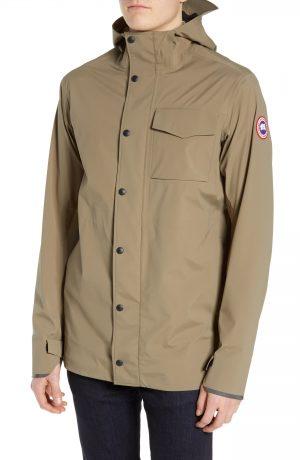 Men's Canada Goose Nanaimo Windproof/waterproof Jacket, Size X-Large - Green