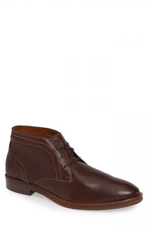 Men's Johnston & Murphy Warner Chukka Boot, Size 10 M - Brown