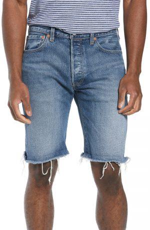 Men's Levi's 501 Ct Denim Shorts, Size 31 - Red