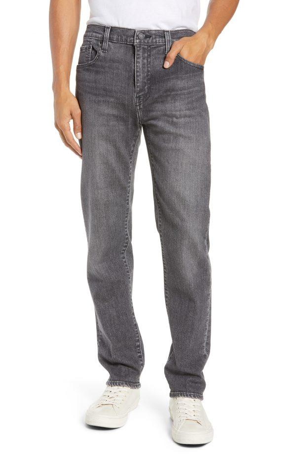 Men's Levi's 502(TM) Slouchy Slim Fit Jeans, Size 30 x 32 - Black