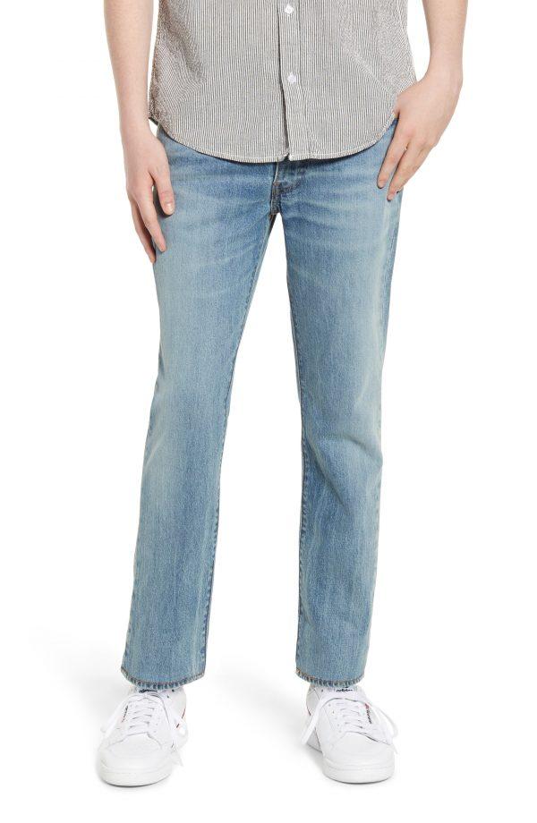 Men's Levi's 511(TM) Slim Fit Ankle Jeans, Size 28 x 32 - Blue