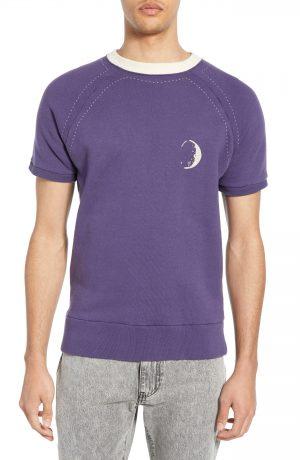 Men's Levi's Vintage Clothing 1950S Short Sleeve Sweatshirt, Size Medium - Blue
