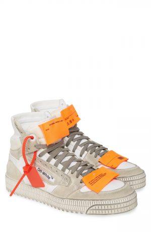 Men's Off-White Off Court Sneaker, Size 40 EU - White