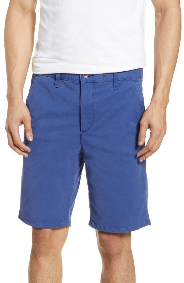 Men's Rag & Bone Classic Chino Shorts, Size 31 - Blue