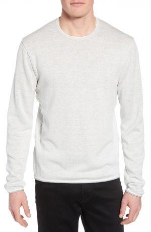 Men's Rag & Bone Dean Slim Fit Crewneck Sweater, Size Medium - Ivory
