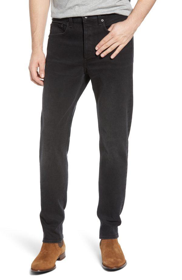 Men's Rag & Bone Fit 2 Black Slim Fit Jeans