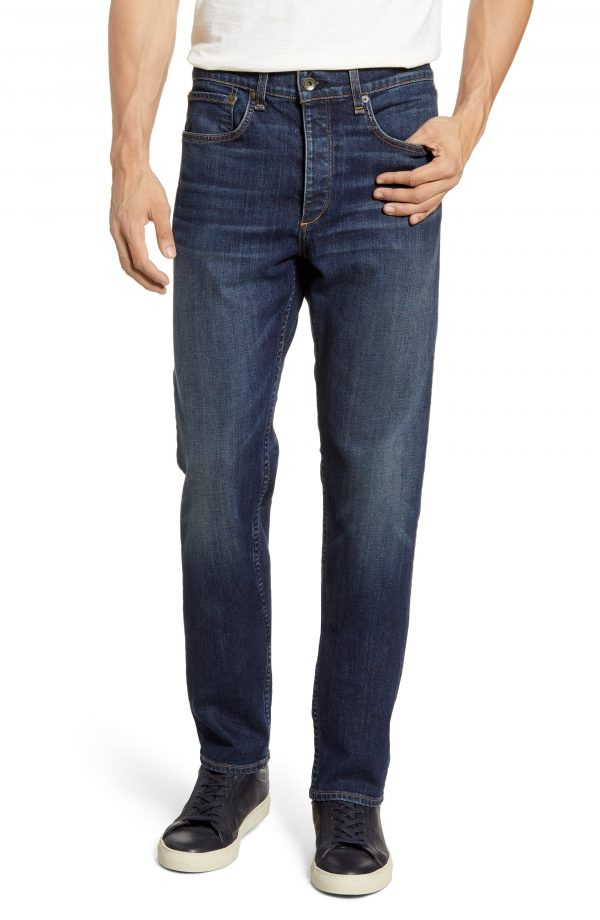 Men's Rag & Bone Fit 2 Slim Fit Jeans, Size 34 - Blue