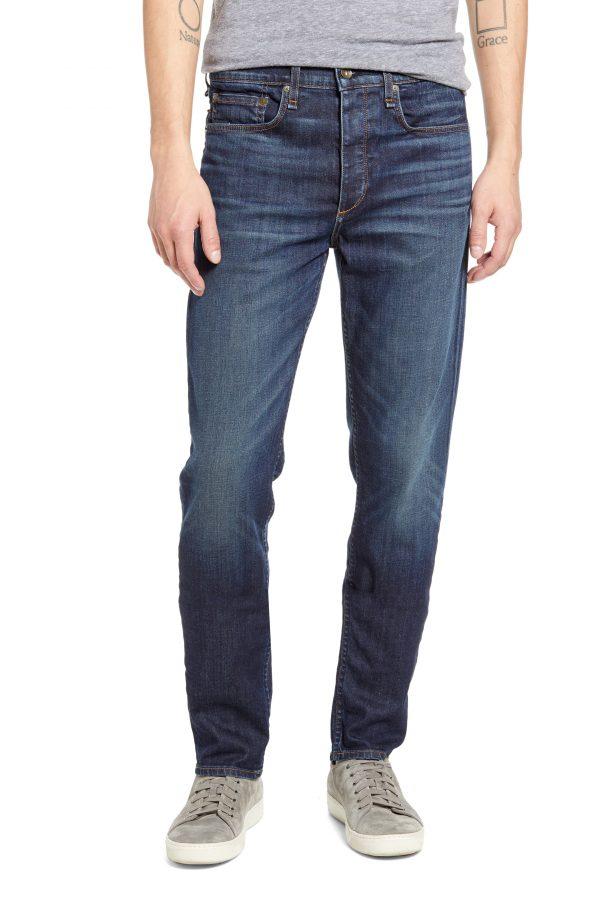Men's Rag & Bone Fit 3 Slim Straight Leg Jeans, Size 31 - Blue