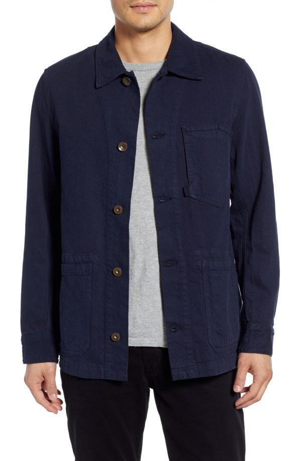 Men's Rag & Bone Jasper Utility Jacket, Size XX-Large - Blue
