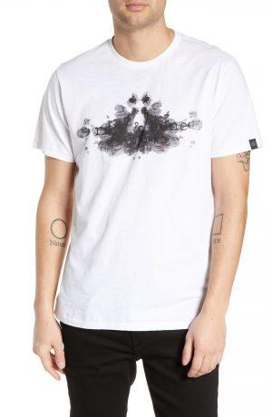 Men's Rag & Bone Rorschach Graphic T-Shirt, Size Large - White