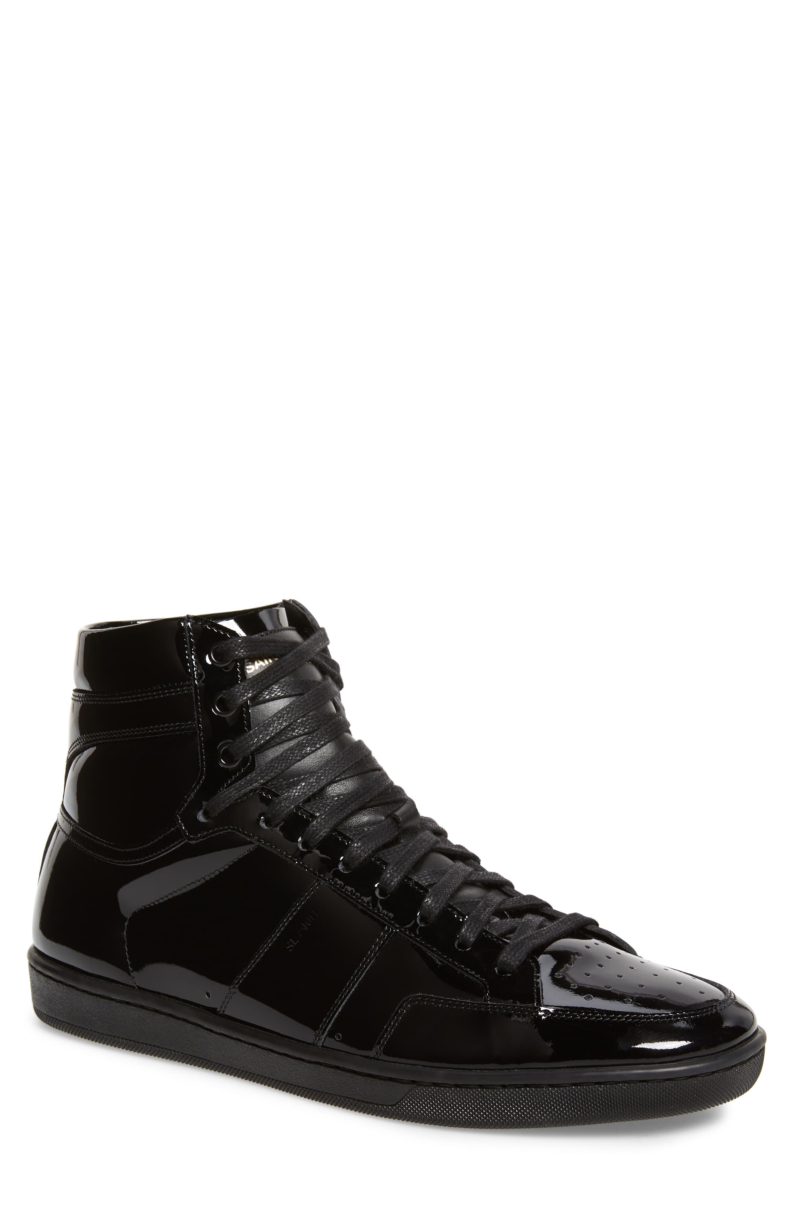 4a615a96 Men's Saint Laurent Sl/10H Signature Court Classic High Top Sneaker, Size  6US / 39EU - Black