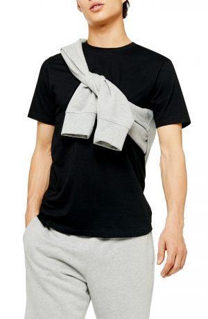 Men's Topman 2-Pack Classic Fit Crewneck T-Shirts, Size Large - Black