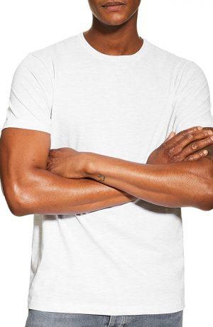 Men's Topman 3-Pack Classic Fit Crewneck T-Shirts, Size Large - Black
