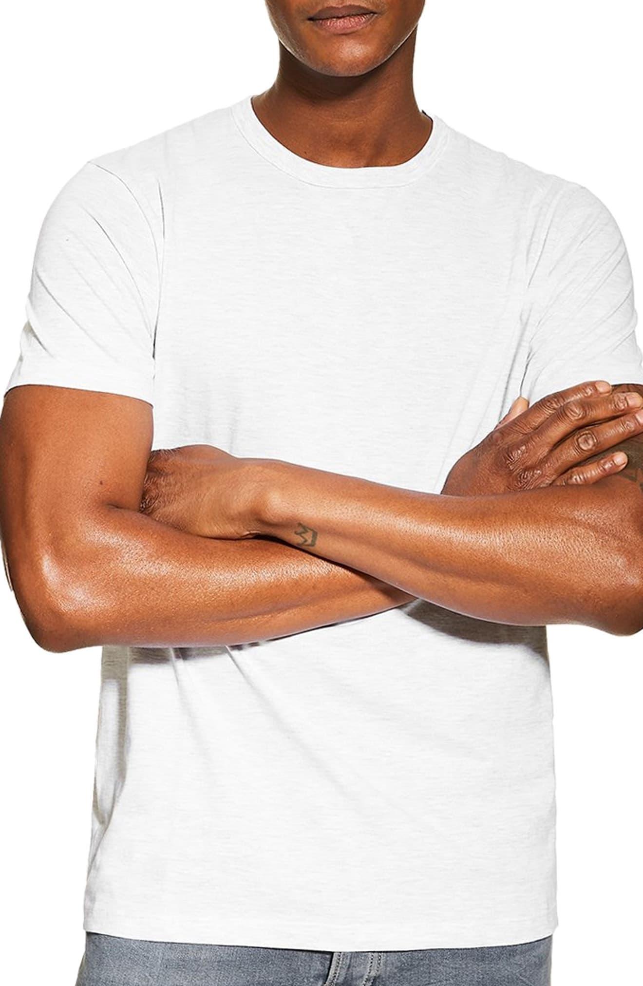 172e52d74 Men's Topman 3-Pack Classic Fit Crewneck T-Shirts, Size Large – Black