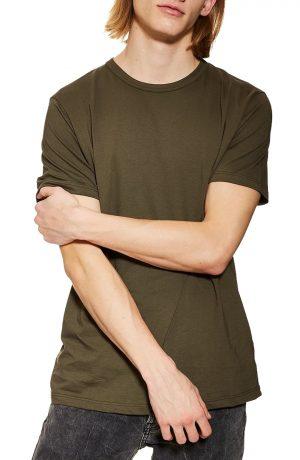 Men's Topman 3-Pack Classic Fit Crewneck T-Shirts, Size Large - Green