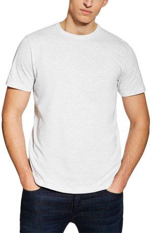 Men's Topman 3-Pack Classic Fit Crewneck T-Shirts, Size Large - Grey