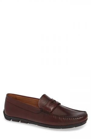 Men's Vince Camuto Ditto Driving Shoe, Size 10 M - Brown