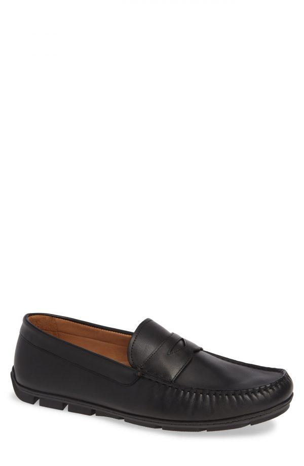 Men's Vince Camuto Ditto Driving Shoe, Size 11.5 M - Black