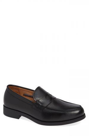 Men's Vince Camuto Nait Penny Loafer, Size 8.5 M - Black