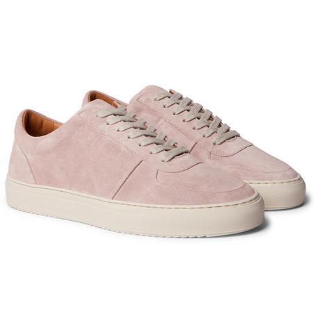 Mr P. - Larry Suede Sneakers - Men - Pink