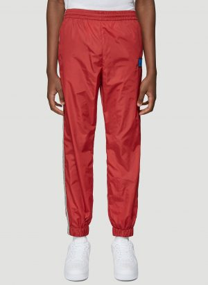 Off-White Arrow Side Track Pants in Red size M