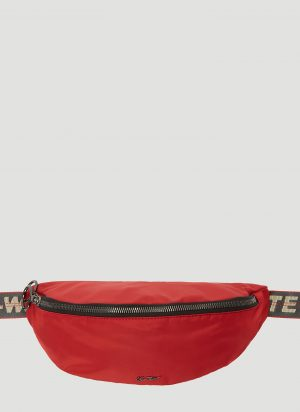 Off-White Basic Belt Bag in Red size One Size