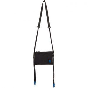 Off-White Black Flat Crossbody Bag