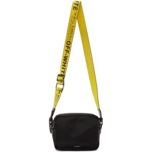Off-White Black Industrial Crossbody Bag